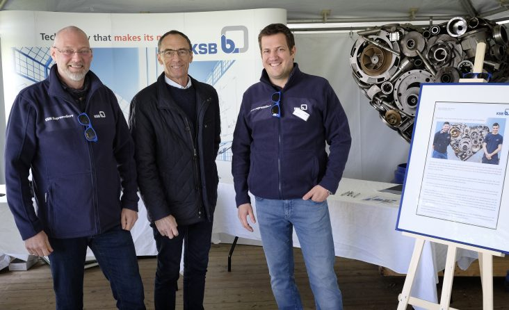 BASF et KSB au Family day
