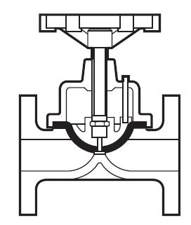 Robinet à membrane