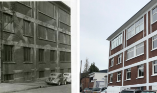 L'usine de Déville-lès-Rouen