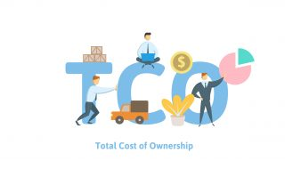 TCO, Total Cost of Ownership.