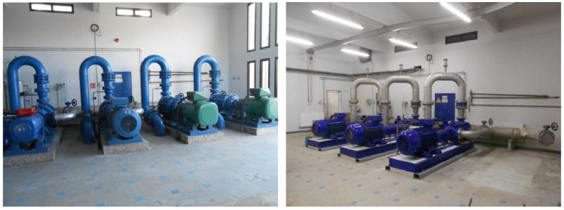 Réhabilitation de la station de pompage de Lanaud