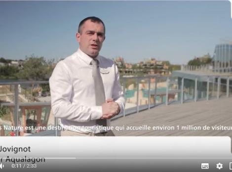 Romain Jovignot, directeur Aqualagon chez Villages Nature
