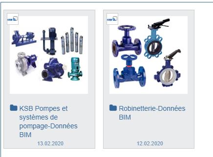 BIM - partcommunity produits KSB