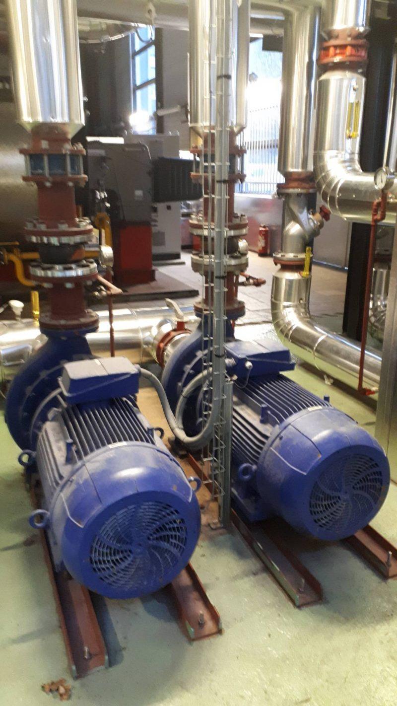 installation de pompage et économies d'énergie