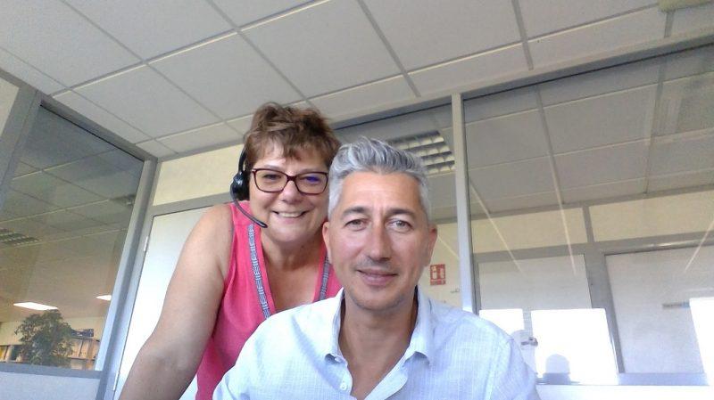 Martine Demillière Vergnais et Arnaud Mazoyer