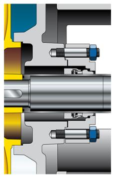 Pompe avec garniture mécanique