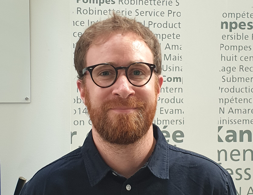 Yannick Paugam, Expert Application avant-vente Automation