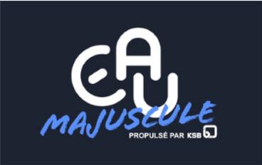 logo eau majuscule
