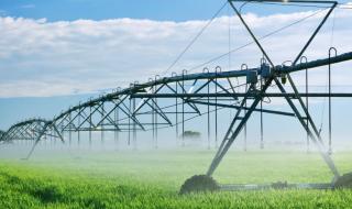 rampe d'irrigation