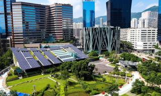 panneaux solaires en ville